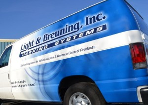 Light and Breuning Service Truck